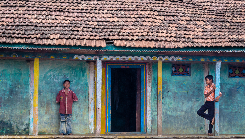 Indian villages house photo