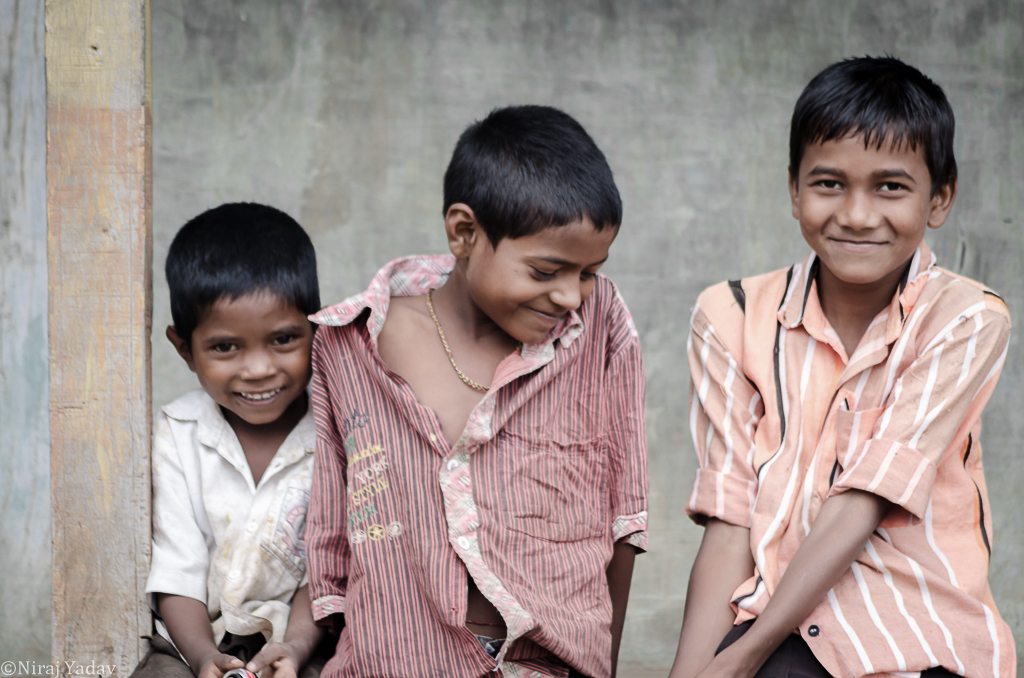Photo of indian kids smiling