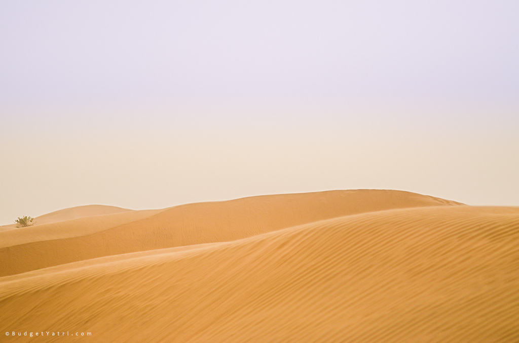 Beautiful Thar desert, budgetyatri