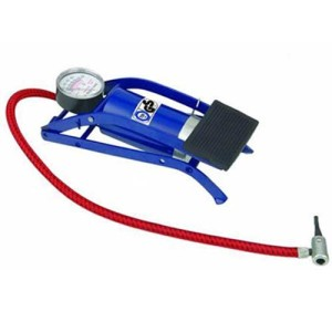 Tyre foot pump motorcycle