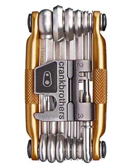 CRANKBROTHERS Multi Bicycle Tool (19-Function Gold)
