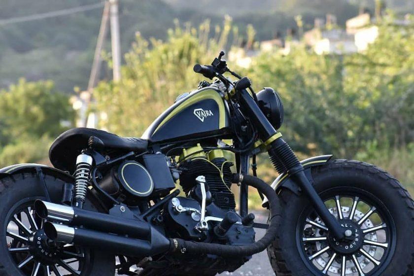 Modified Royal enfield bikes