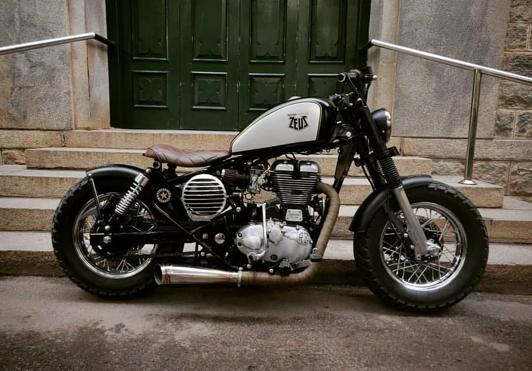 Bike restoration India, Royal Enfield modified