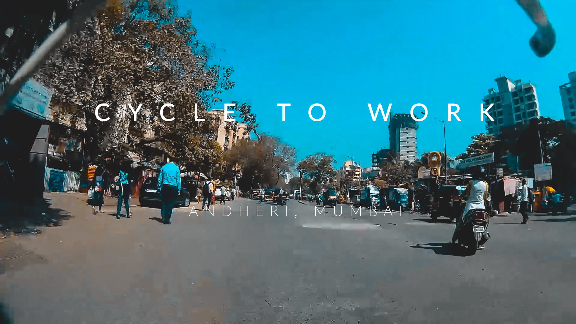 Cycling to office India