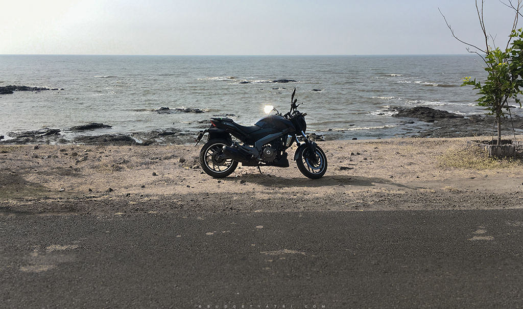 Bajaj Dominar, bike trip Mumbai to Murud Janjira fort