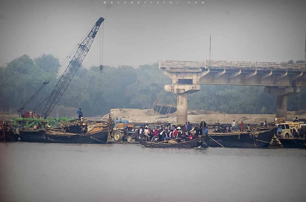Kosi river boats