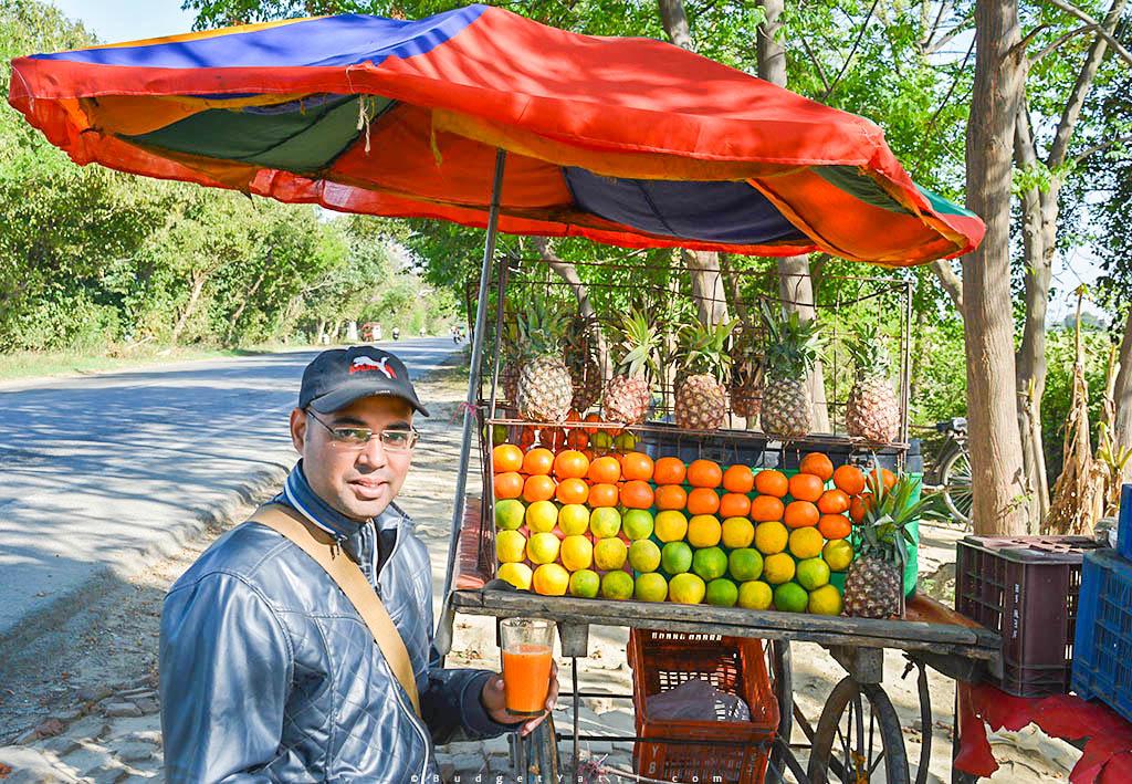 Bike trip to Punjan