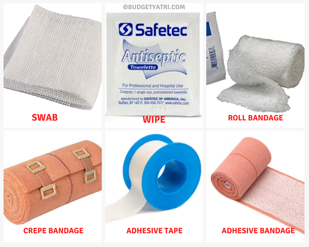 First aid underseat kit for motorcycles