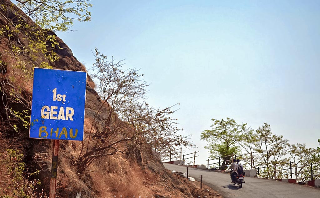 Funny sign board matheran hill station
