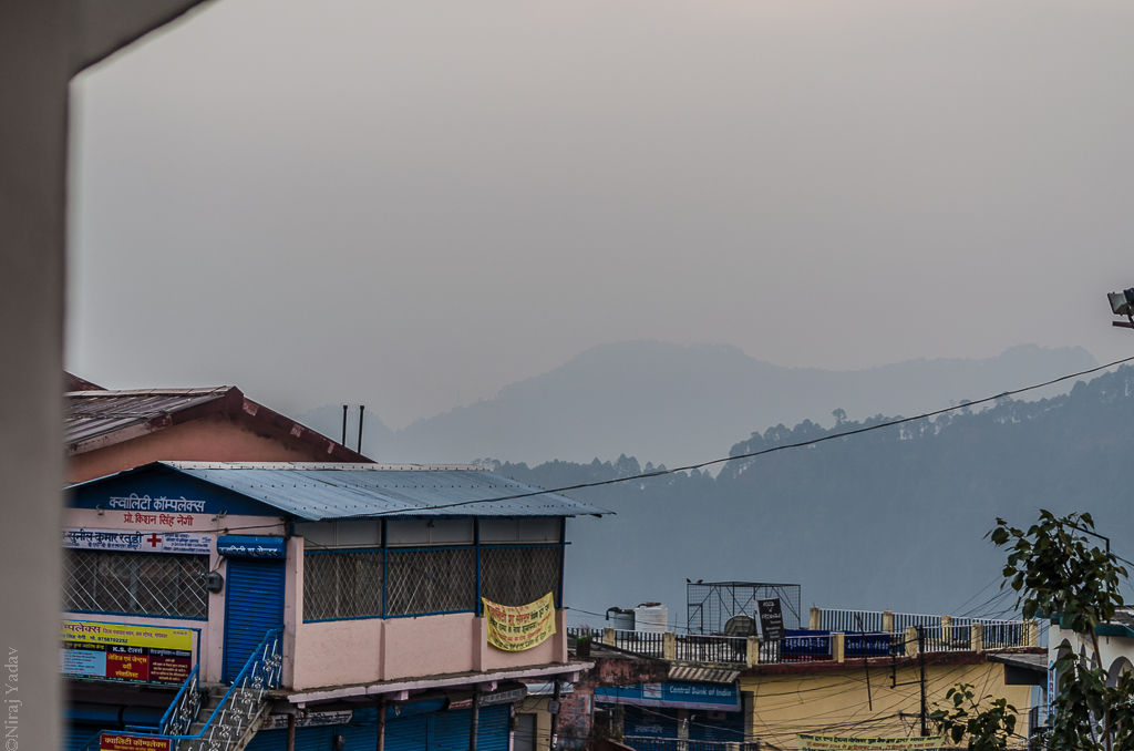 View from Gopeshwar GMVN
