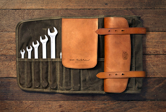 Motorcycle leather toolkit