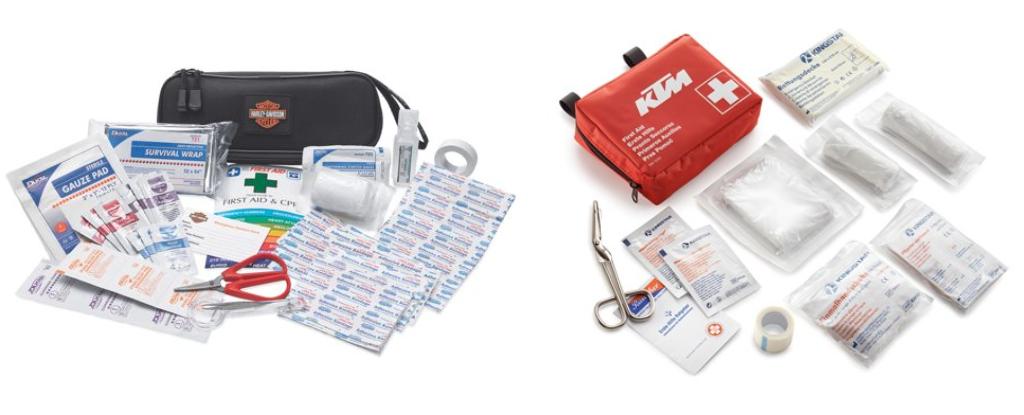 Harley davidson and ktm first aid kit