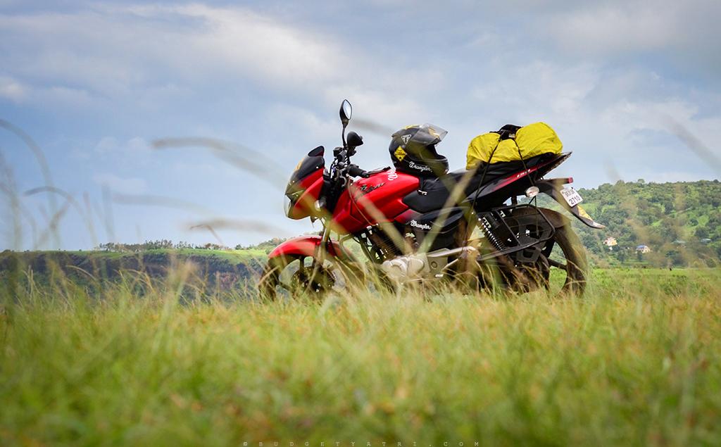 Bajaj Pulsar bike trip photos