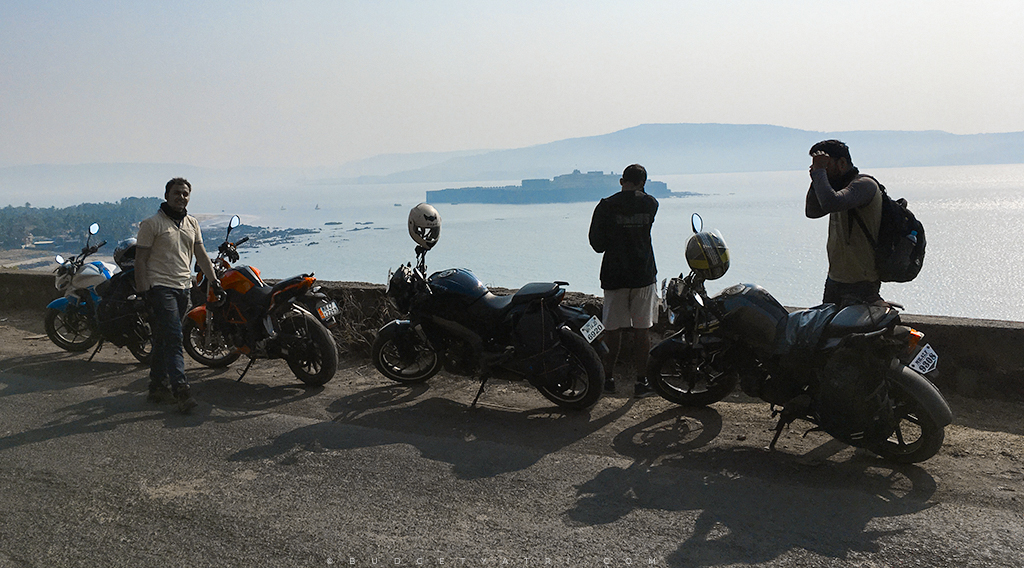 Mumbai to Murud Janjira on bike