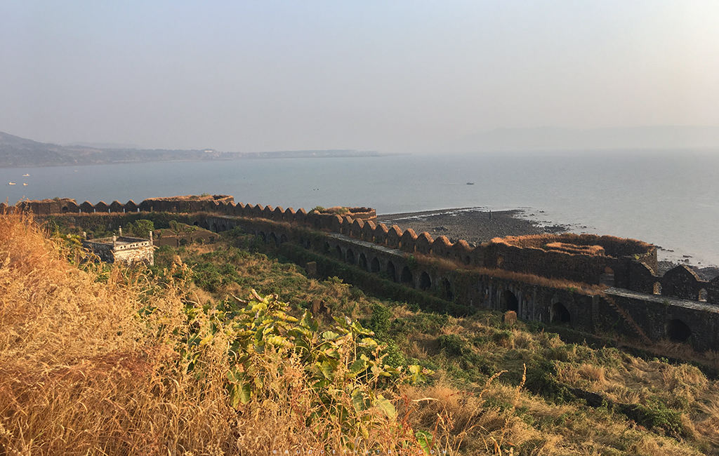 Murud janjira wall boundary