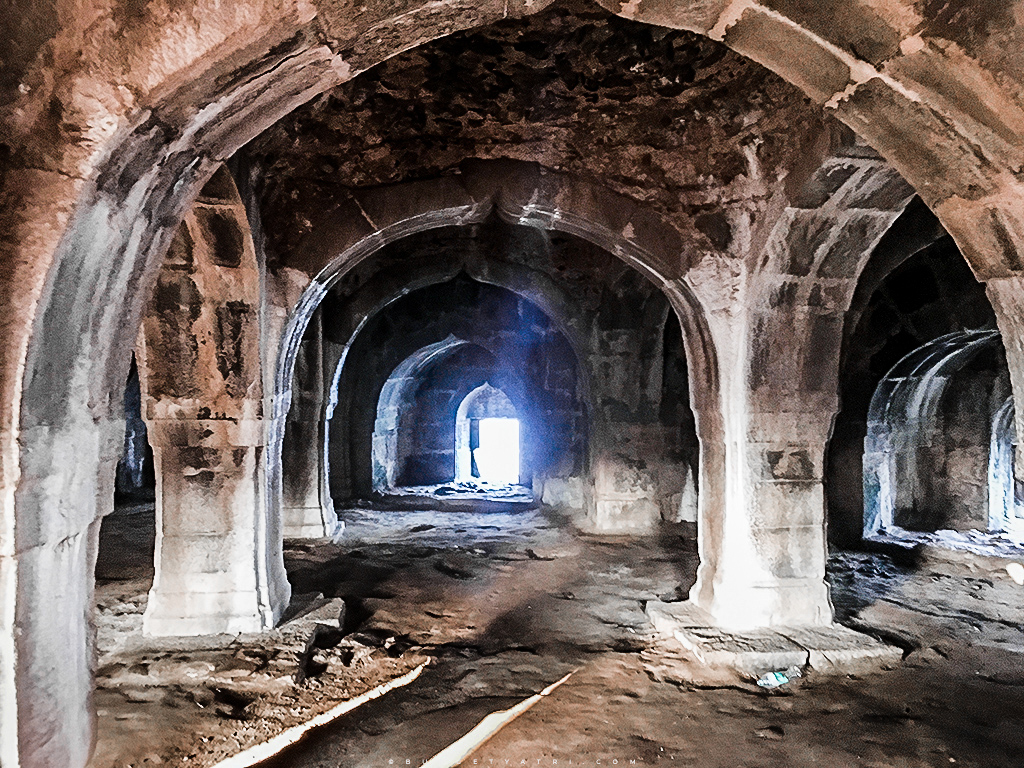 Murud Janjira fort inside