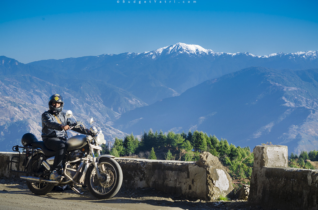 kufri, shimla, bike ride, himalayas, solo bike trip