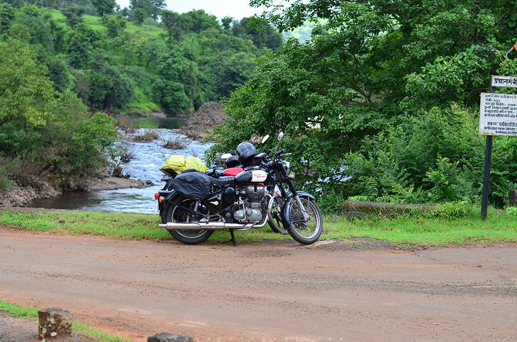 Koyna backwater bike trip