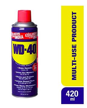 WD 40 for Bajaj Dominar, Dominar maintenance