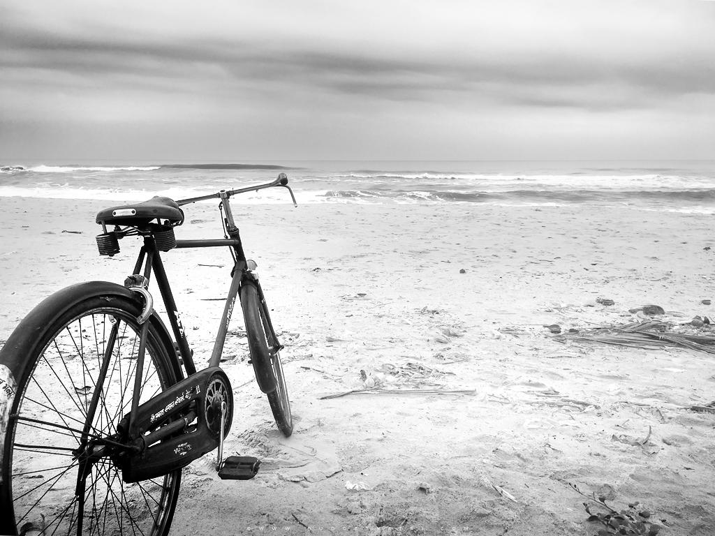 Sagareshwar beach, cycle konkan coast