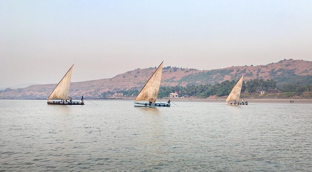 Murud Janjira boat