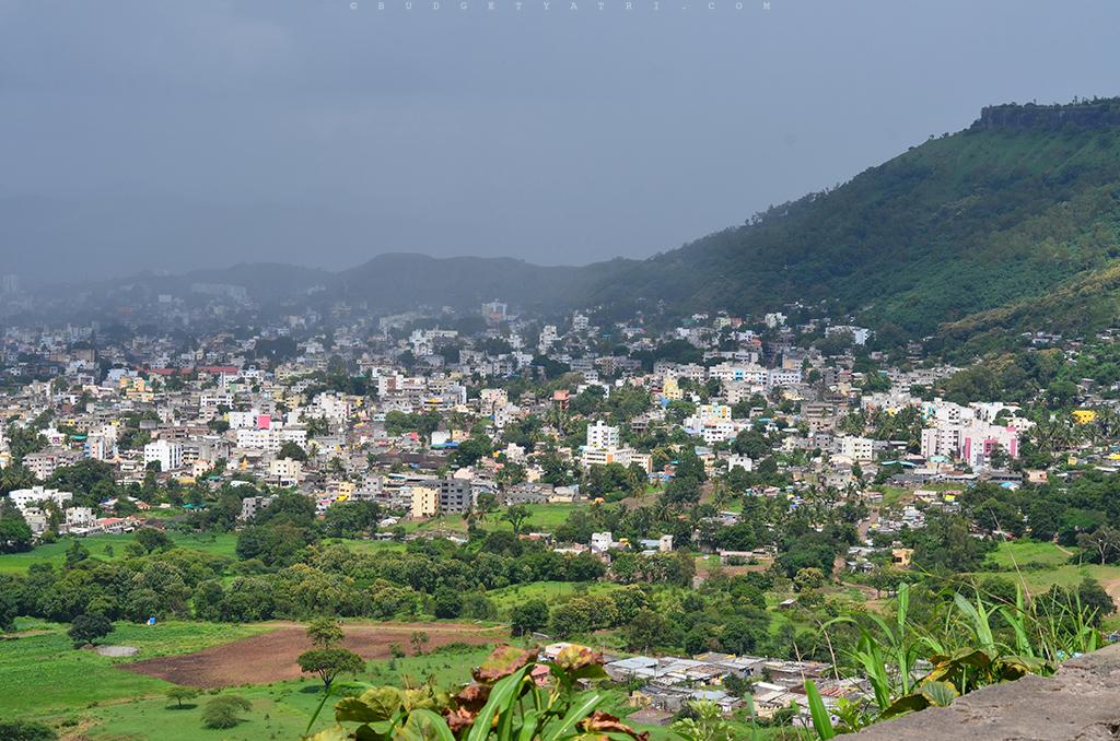 View of the Satara city