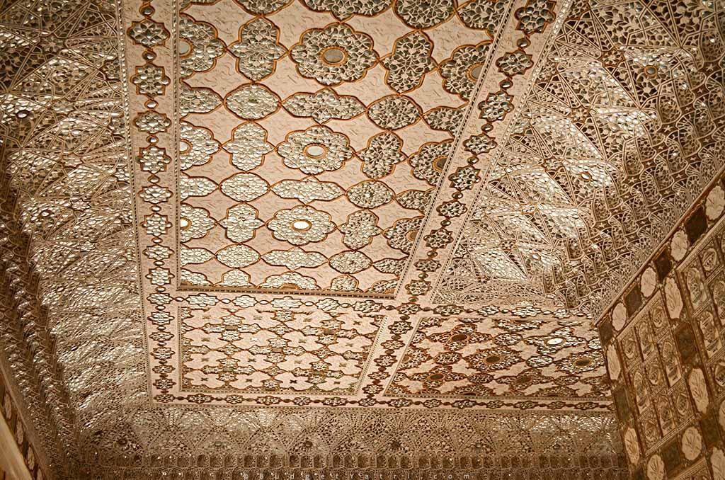 Sheesh Mahal building Amber Fort Jaipur