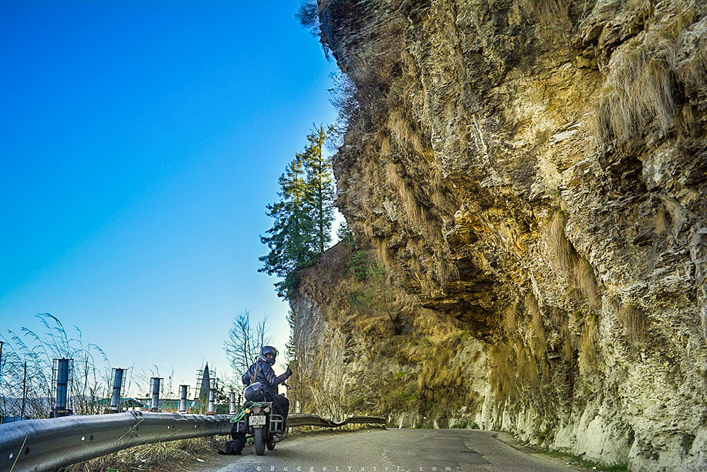 Narkanda bike trip, Thunderbird 350