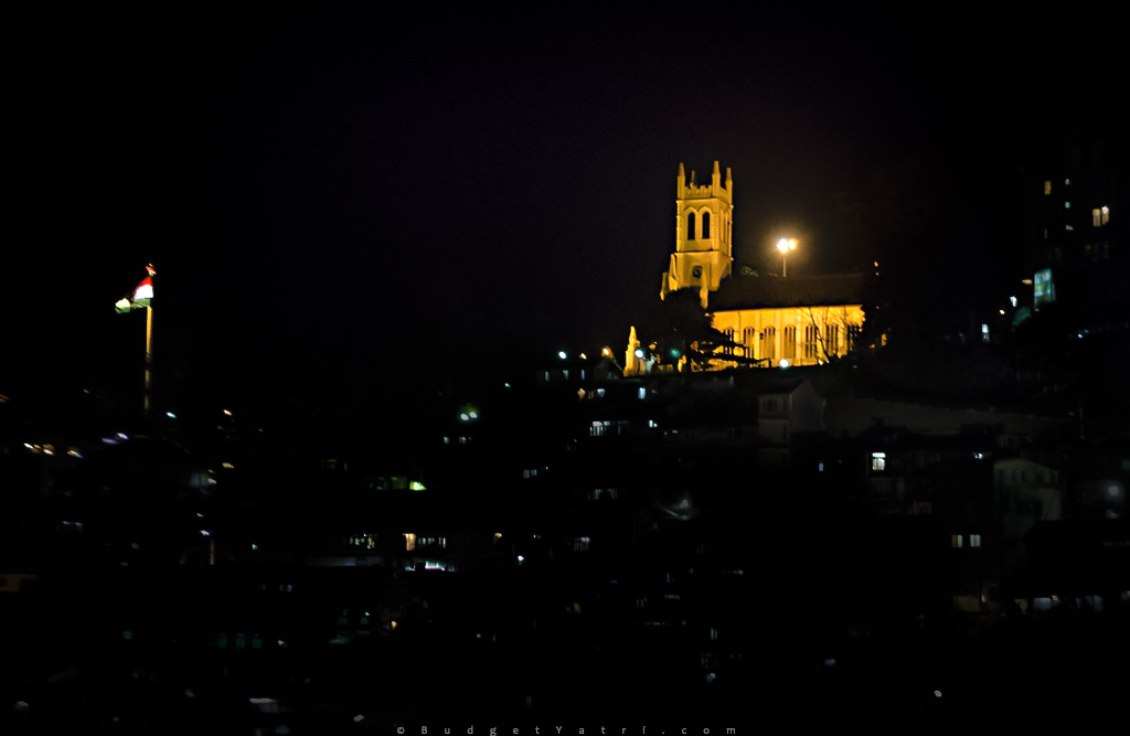 Christ Church Shimla, Mall Road