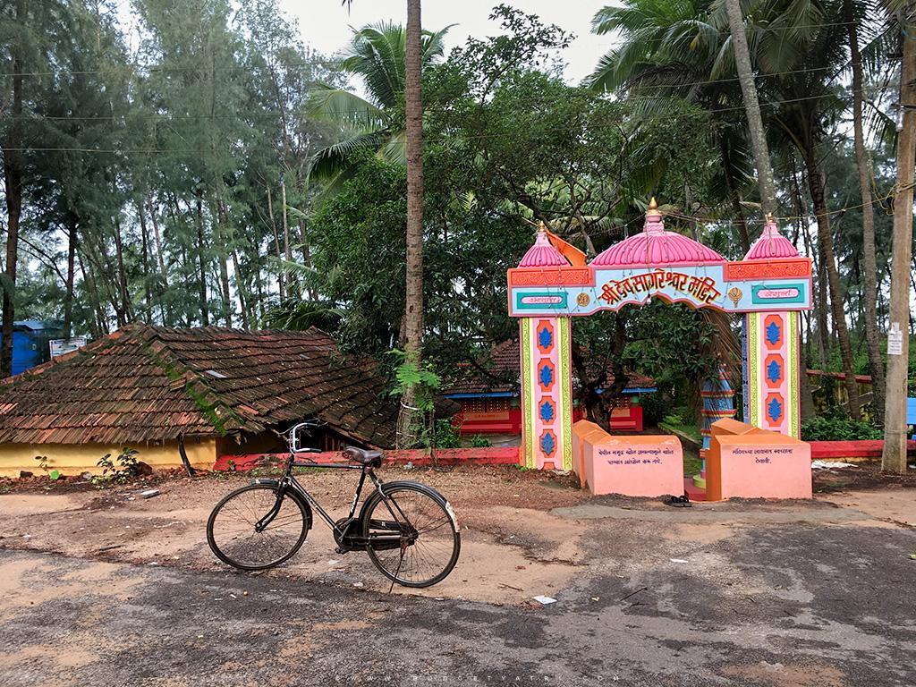 Dev sagareshwar mandir, Sagareshwar temple