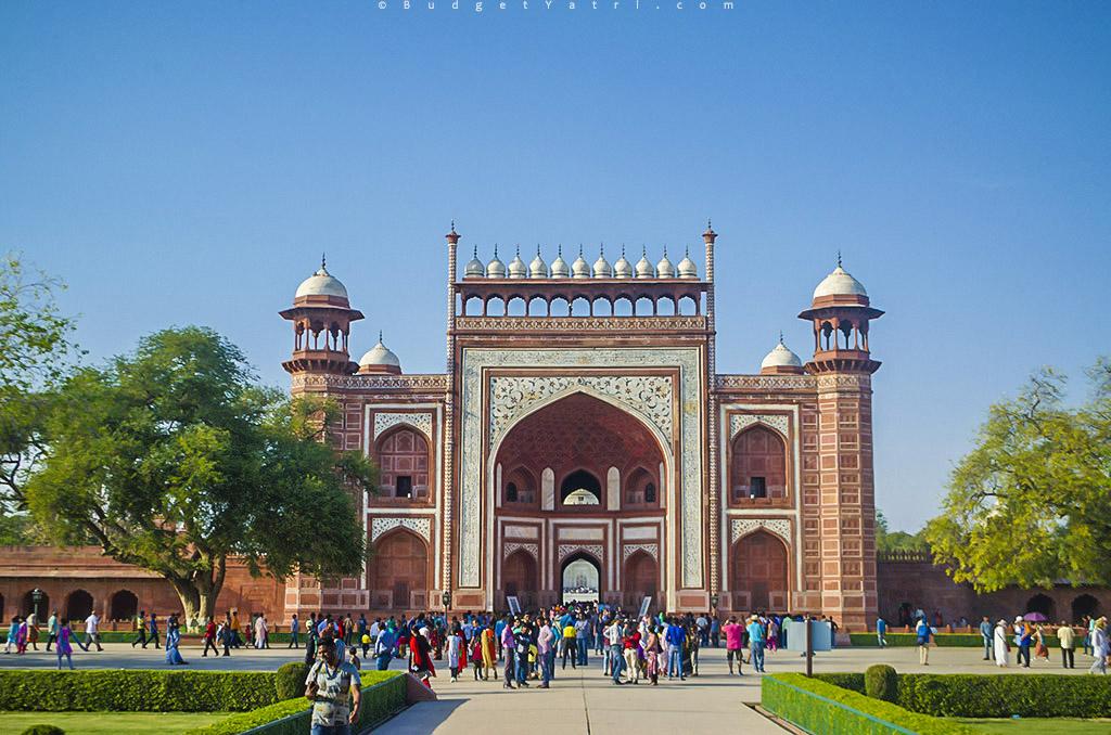 Taj Mahal, Bike trip Agra