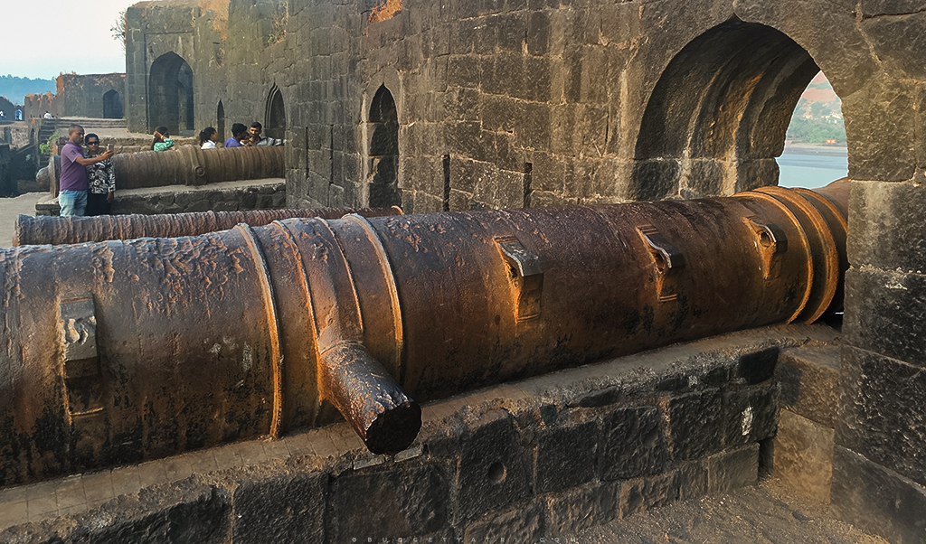 Murud Janjira fort cannons