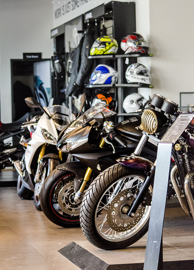 Triumph Motorcycles showroom Mumbai