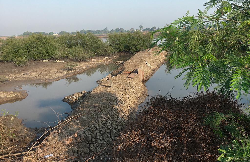 water structures india, farm sluice gates
