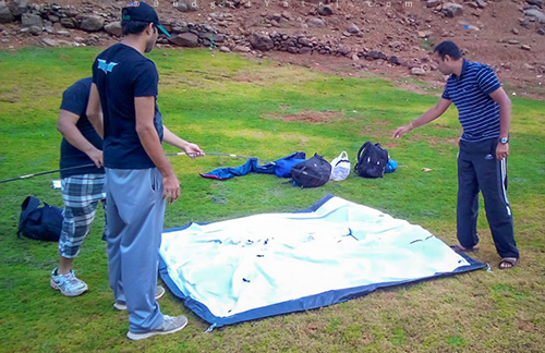 Review of quechua t2 tent